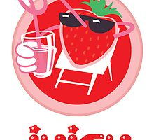 Juicy Strawberry! by drawgood