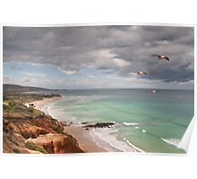 Southern Flyby,Anglesea,Great Ocean Road Poster