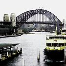 Sydney Harbour. NSW by waxyfrog