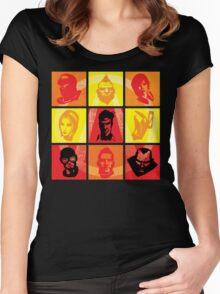 Vault Hunter Pop Women's Fitted Scoop T-Shirt