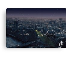 In The Hear Of Night Canvas Print