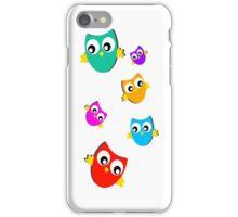 Owls # 3 iPhone Case/Skin