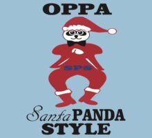 ★ټOppa Santa-Panda Style Hilarious Clothing & Stickersټ★ by Fantabulous