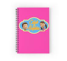 Caleb & Sophia (For Her) Spiral Notebook