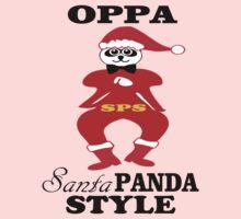 ★ټOppa Santa-Panda Style Hilarious Clothing & Stickersټ★ One Piece - Long Sleeve