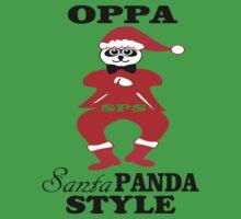 ★ټOppa Santa-Panda Style Hilarious Clothing & Stickersټ★ Baby Tee