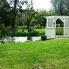 *Small Gazebo & Pond at GUMBUYA PARK Vic. Australia* by EdsMum