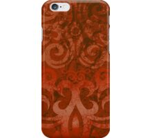 Orange Tattoo iPhone Case/Skin