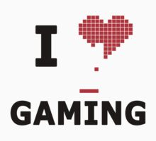 I Heart Gaming by JcDesign