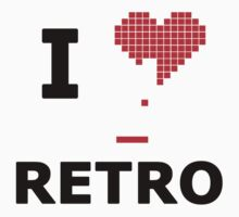 I Heart Retro by JcDesign
