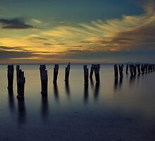 Clifton Springs - Sunset by kcy011