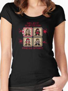 Pixel Bait Women's Fitted Scoop T-Shirt
