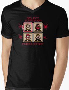 Pixel Bait Mens V-Neck T-Shirt