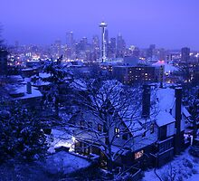 Christmas in Seattle by seattleimage