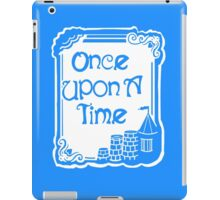 Once Upon A Time in Blue iPad Case/Skin