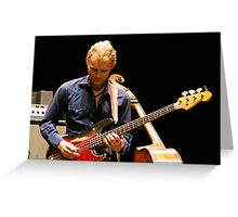 Chris Wood on the Fender Greeting Card