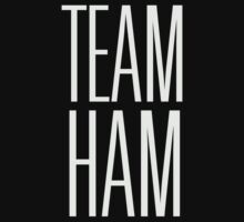 Team Ham (Dark BG) Kids Tee
