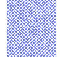Purple and White Truchet Photographic Print