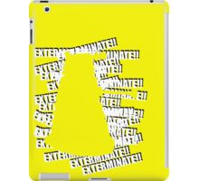 Dalek Yellow iPad Case/Skin