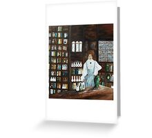 The Old Pharmacy Greeting Card