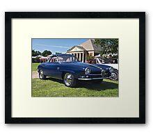 Fabulous Fiat Framed Print