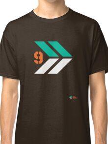 Arrows 1 - Emerald Green/Orange/White Classic T-Shirt