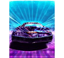 Knight Rider Photographic Print