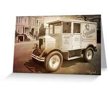 Hey Milkman! Greeting Card