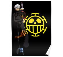 TRAFALGAR LAW BLACK | ONE PIECE  Poster