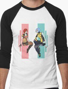 Gorgeous Siren Girls Men's Baseball ¾ T-Shirt