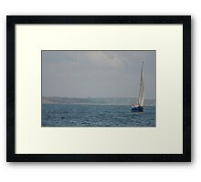 Ahoy There!  Framed Print