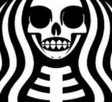 Starbucks Skull Sticker