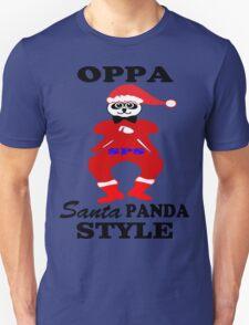 ★ټOppa Santa-Panda Style Hilarious Clothing & Stickersټ★ Unisex T-Shirt