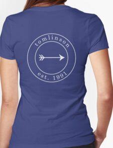 Louis Tomlinson est. 1991 Emblem White Womens Fitted T-Shirt