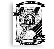 Forever Liberated Canvas Print