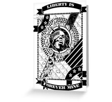 Forever Liberty Greeting Card