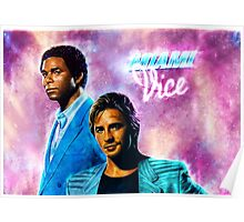 MIami Vice - Crockett and Tubbs  Poster