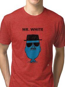 Mr. White Tri-blend T-Shirt