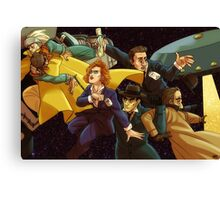 Superwholock Canvas Print