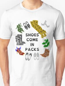 Shoes Come In Packs T-Shirt