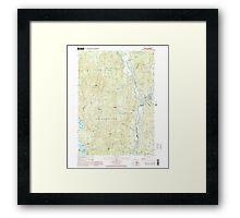 USGS TOPO Map New Hampshire NH Ashland 329469 2000 24000 Framed Print