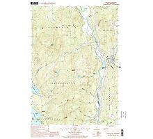 USGS TOPO Map New Hampshire NH Ashland 329469 2000 24000 Photographic Print