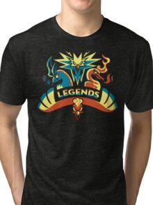 LEGENDS - Gold Tri-blend T-Shirt