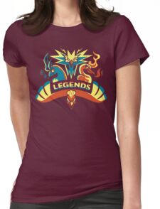 LEGENDS - Gold Womens Fitted T-Shirt