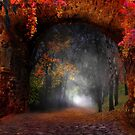 Autumn Road by Igor Zenin