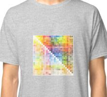 Watercolour Mixing Mega Chart Classic T-Shirt