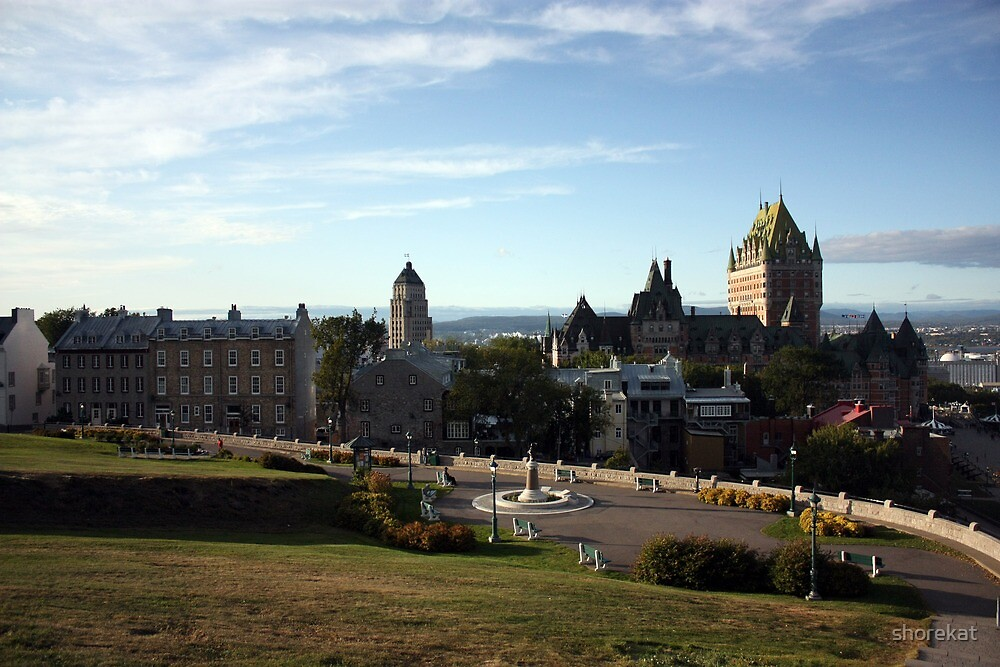 Old Quebec City by shorekat