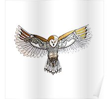 Clockwork Owl Poster