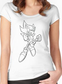 Super Sonic Women's Fitted Scoop T-Shirt