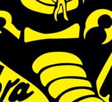 Cobra Kai T-shirt and stickers Sticker